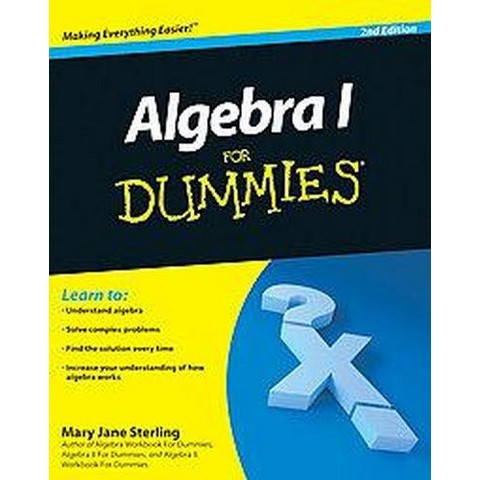 Algebra I For Dummies (Paperback)