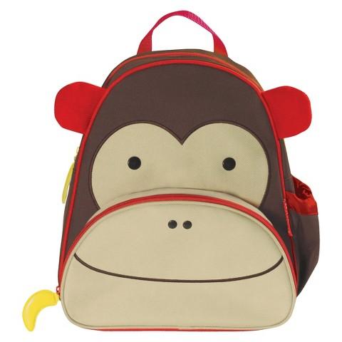 Skip Hop Zoo Pack Little Kids & Toddler Monkey Backpack