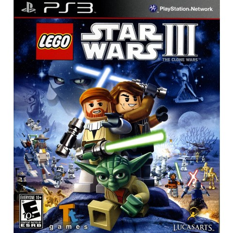 LEGO® Star Wars III: The Clone Wars (PlayStation 3)