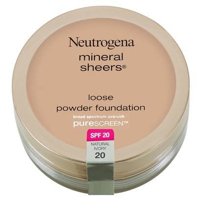 NEUTROGENA® Mineral Sheers® Loose Powder Foundation