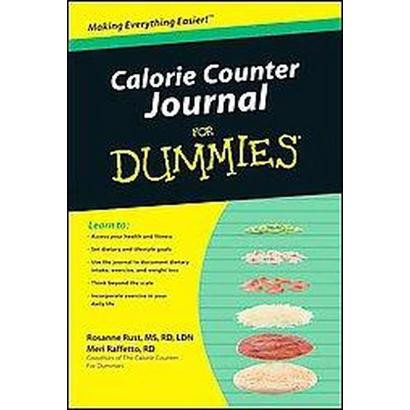 Calorie Counter Journal for Dummies (Paperback)