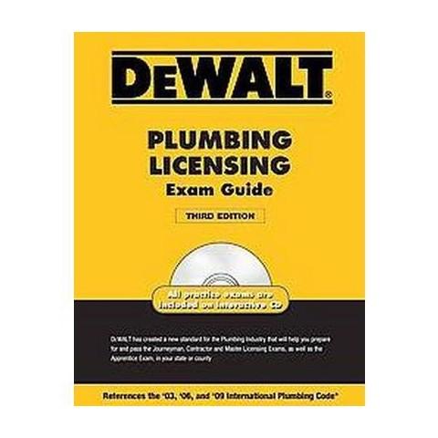 DeWalt Plumbing Licensing Exam Guide (Mixed media product)
