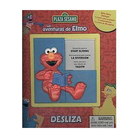 Las Aventuras de Elmo/ Adventures of Elmo ( Desliza) (Board)