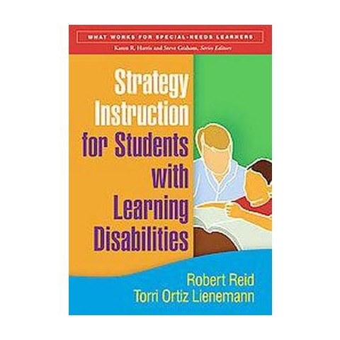 Strategy Instruction for Students With Learning Disabilities (Paperback)