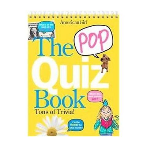 The Pop Quiz Book (Spiral)
