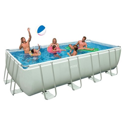 Intex  9ft x 18ft x 52in  Rectangle Swimming Pool