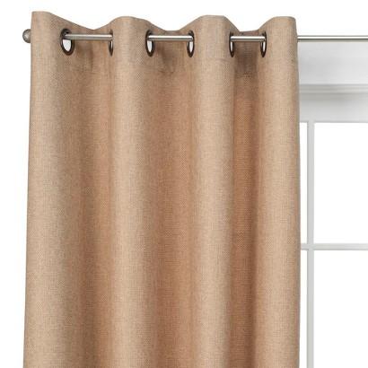 Threshold™ Basketweave Curtain Panel