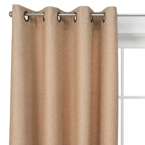Threshold™ Basketweave Curtain Panel