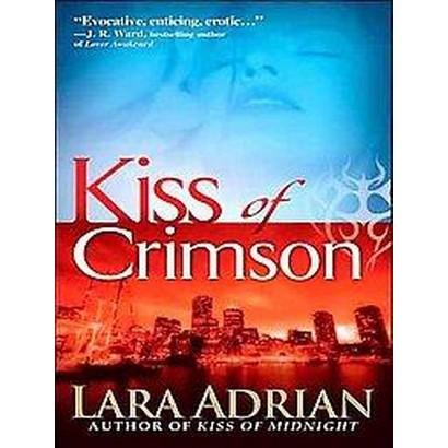 Kiss of Crimson (Unabridged) (Compact Disc)