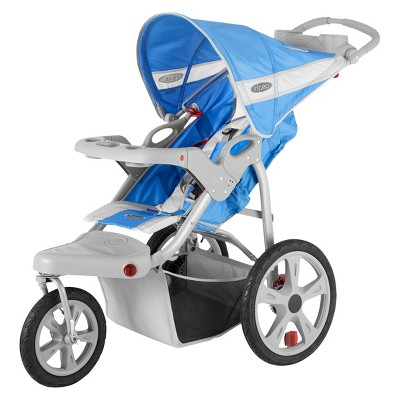 InStep Safari Swivel Jogger Single - Cobalt