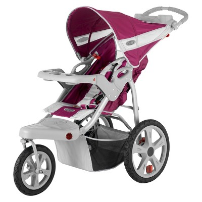 InStep Safari Swivel Jogger Single - Wine