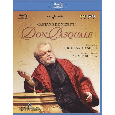 Don Pasquale (Blu-ray) (Widescreen)
