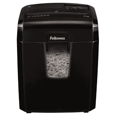 Fellowes 7 Sheet Cross Cut Shredder - Black (4603001)