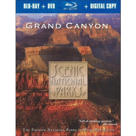 Scenic National Parks: Grand Canyon (2 Discs) (Includes Digital Copy) (Blu-ray/DVD) (W) (Widescreen)