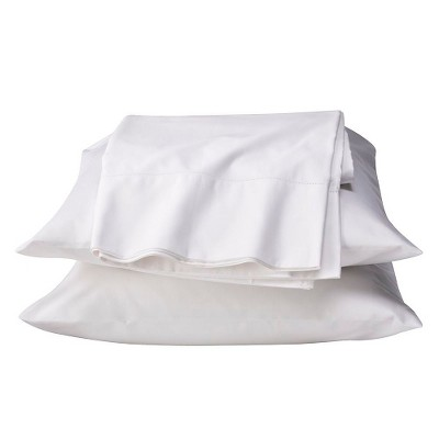 Egyptian Cotton 600 Thread Count Sheet Set - White (Full) - Fieldcrest™