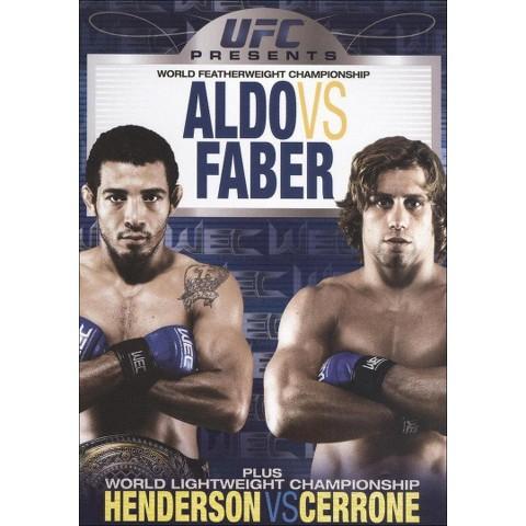 UFC Presents World Featherweight Championship: Aldo vs. Faber (Widescreen)