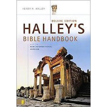Halley's Bible Handbook With the New International Version (Deluxe) (Hardcover)
