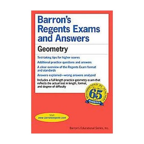Barron's Regents Exams and Answers Geometry (Paperback)