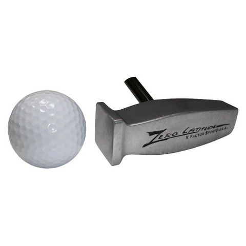 Zero Latitude Dr. Feelgood Putter with Free Dr. Knockdown 80º Wedge - Left Hand