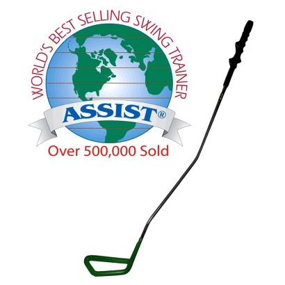 Matzie Assist Golf Swing Trainer Green - Childrens Right Hand