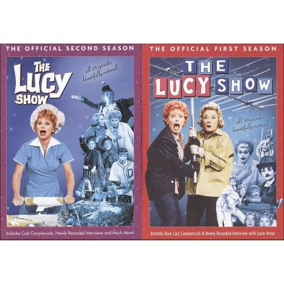The Lucy Show: The Official First & Second Seasons (8 Discs)