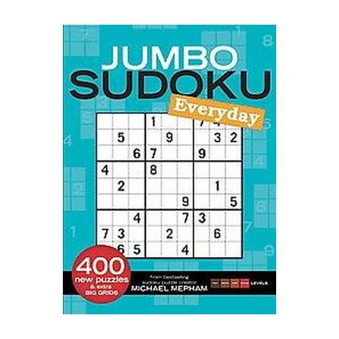 Jumbo Sudoku Everyday (2) (Paperback)