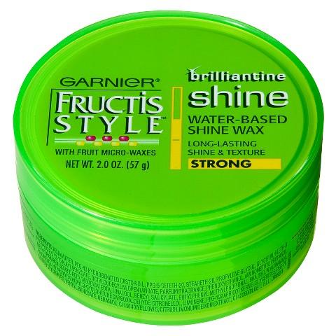 Garnier Fructis Style - Brilliantine Shine Water-Based Shine Wax - 2 oz.