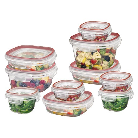 Rubbermaid Locking Lid 20-pc. Food Storage Set