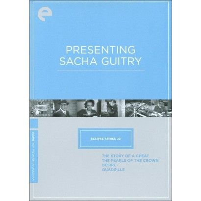 Presenting Sacha Guitry (Criterion Collection) (4 Discs) (S) (The Criterion Collection)