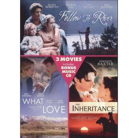 Follow the River/The Inheritance/What I Did for Love (DVD/CD)