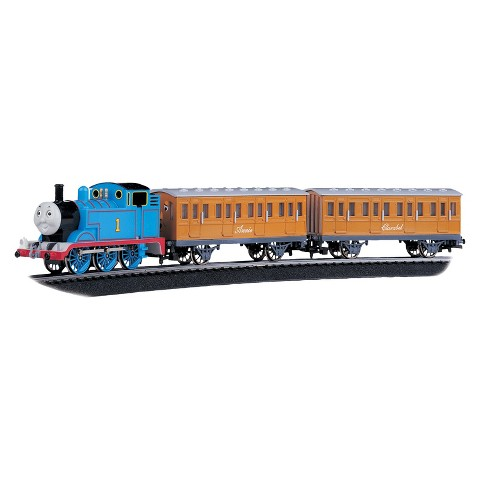 Bachmann Trains Thomas with Annie and Clarabel Ready-to-Run HO Scale Train Set