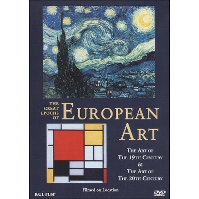 The Great Epochs of European Art: The Art of the 19th Century/The Art of the 20th Century
