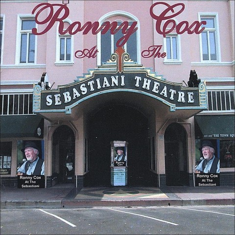 Ronny Cox at the Sebastiani Theatre