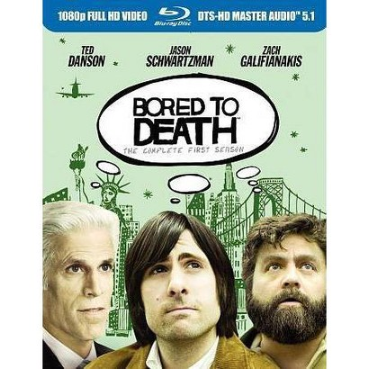 Bored to Death: The Complete First Season (3 Discs) (Blu-ray) (Widescreen)