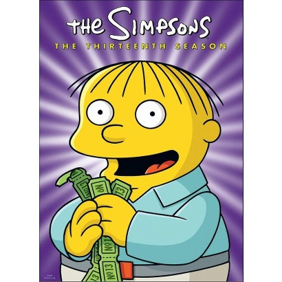 The Simpsons: The Thirteenth Season (4 Discs)
