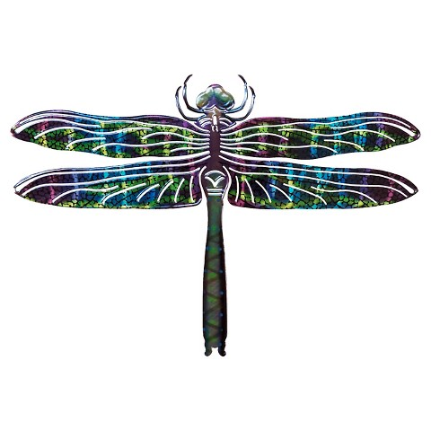 3D Wall Art Dragonfly - Blue