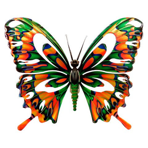 3D Wall Art Butterfly - Multicolor