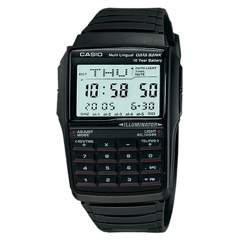 Men's Casio Databank Watch - Black (DBC32-1A)