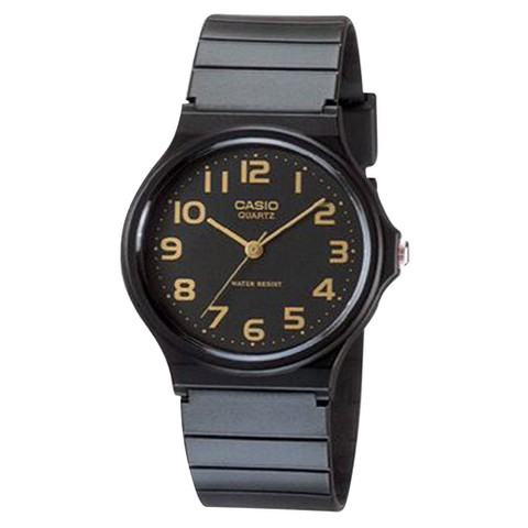 Men's Casio Analog Watch - Black