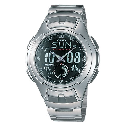 Casio Men's Ana-Digi Sport Watch - Silver - AQ160WD-1BV