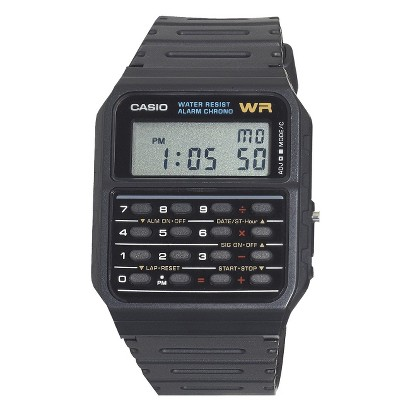Casio Calculator Watch - Black - CA53W-1
