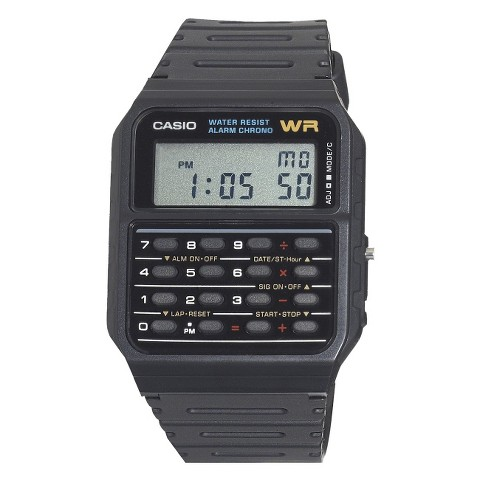 Casio Calculator Watch - Black (CA53W-1)