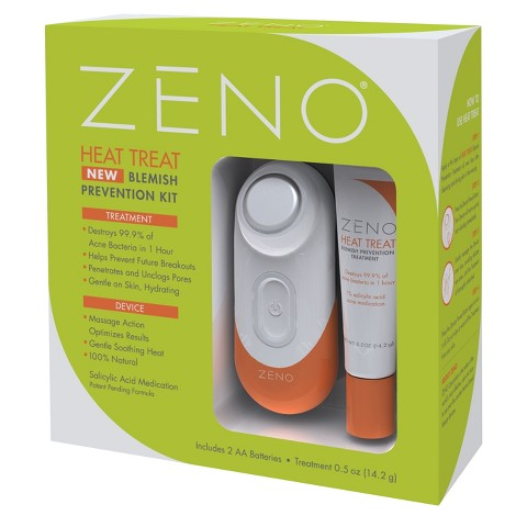 Zeno Heat Treat Blemish Prevention Kit - Orange