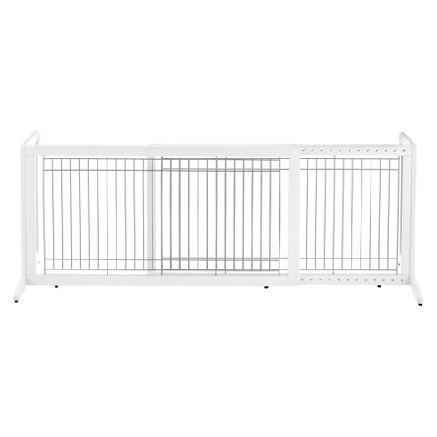 Richell Freestanding Pet Gate HL - Origami White