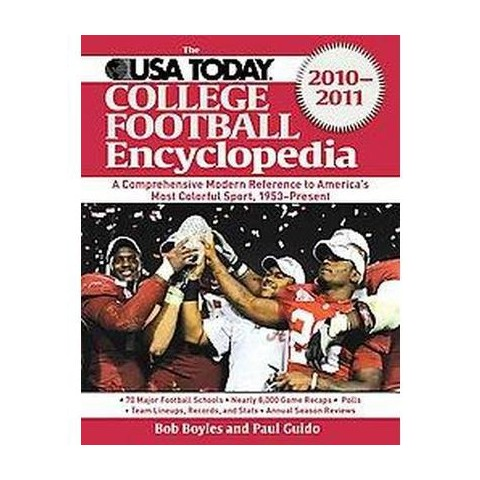 The USA Today College Football Encyclopedia 2010-2011 (Paperback)