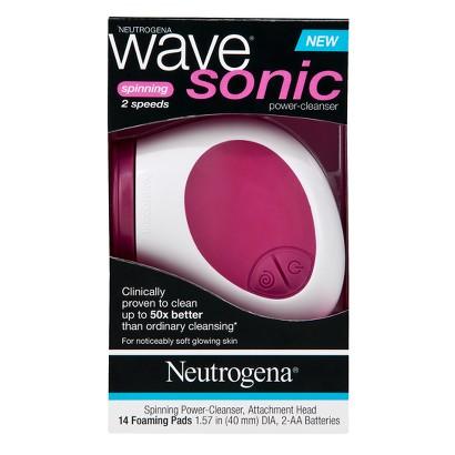 Neutrogena Wave Sonic Spinning Power-Cleanser