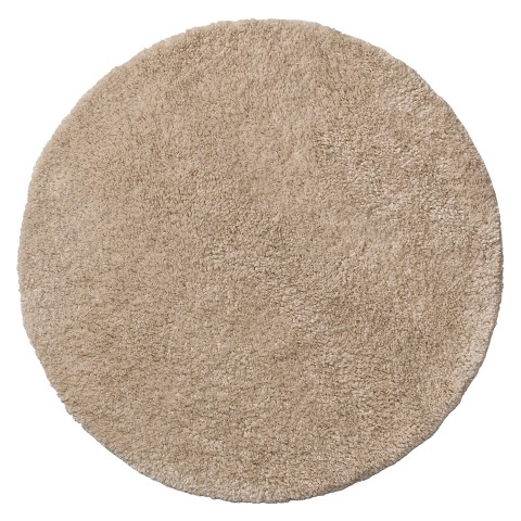 Excellent Contemporary Home Bath Rug  Ebony 24quot Round  Target  Polyvore