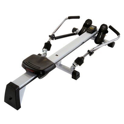 Crescendo Fitness Power Rower - Black/ Gray