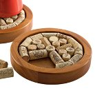 Round Cork Trivet Kit - Walnut