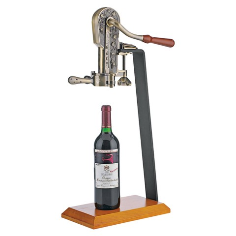 Legacy Corkscrew with Stand - Bronze/Walnut